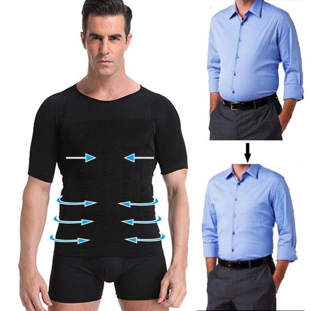Classix Men Body Toning T-Shirt Slimming Body Shaper Corrective Posture Belly Control Compression Man Modeling Underwear Corset 3