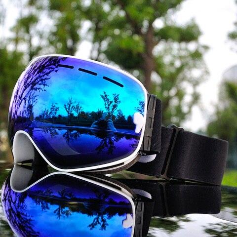 2019 Brand Ski Goggles Men Women Snowboard Goggles Glasses for Skiing UV400 Protection Snow Skiing Glasses Anti-fog Ski Mask Lahore