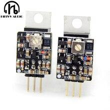 ترقية LM78XX LM79XX LM317 LM337 منفصلة الخطي ينظم الجهد قابل للتعديل ترقية ل مكبر للصوت فك الدائرة