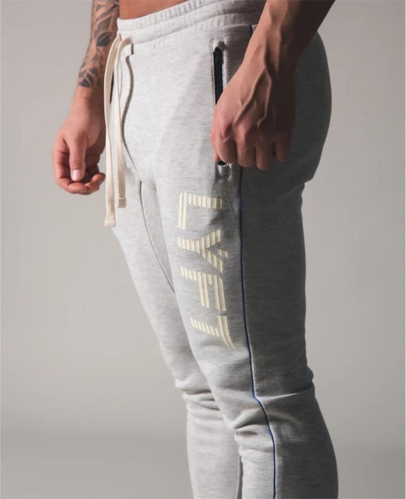 Jogging Pants Men Sport Sweatpants Running Pants Men Joggers Cotton Trackpants Slim Fit Pants Bodybuilding Trouser 20CK07 4