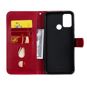 Image 2 - De lujo de cuero PU Flip teléfono caso Huawei Honor 9A 9X 8A 7A 20I 10I 10 Lite magnético cartera caso cubierta Coque