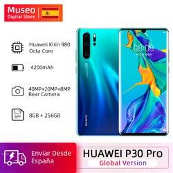 Перейти на Алиэкспресс и купить global version huawei p30 pro 8gb 256gb kirin 980 octa core smartphone 50x digital zoom quad camera 6.47'' full screen oled nfc