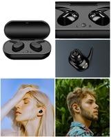 Auriculares inalámbricos TWS con Bluetooth 5,0, Mini auriculares deportivos HIFI con sonido estéreo 3D de graves, para música, para Android IOS, célula 007
