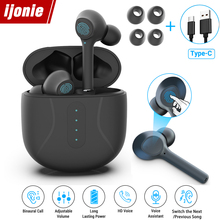 Earphones Sport Headset Earbuds Cancelling-Gaming-Headsets Bluetooth 5.0 Upgraded Tws Wireless