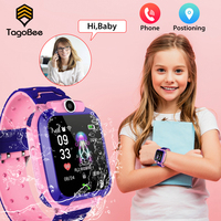 Smart Kids Watch posizionation 2G Sim Card SOS Phone SmartWatch Q12 IP67 orologio impermeabile Smart Watch per bambini per IOS Android