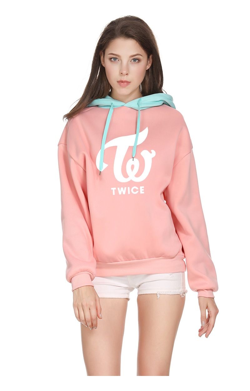 TWICE Hooded Sweatshirts Autumn/Winter 2020 Collection