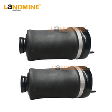 2PCS New Free Shipping Mercedes ML W164 GL X164 Front Air Bag Suspension Air Ride Air Shock Absorber 1643206013 1643206113 стоимость
