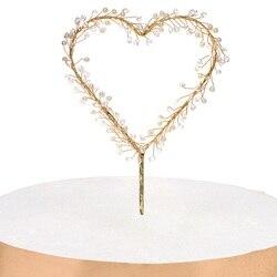 Gotas de água Pérola da Forma Do Coração Do Queque chapéus de Coco Do Bolo Do Chuveiro Do Bebê Fontes Do Partido de Aniversário Festa de Casamento Decoração Frete Grátis
