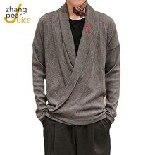 Мужские Винтажные свитера с длинным рукавом в китайском стиле