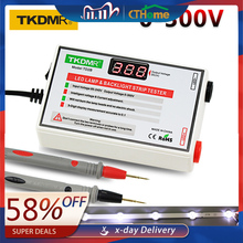 TKDMR probador de retroiluminación LED, salida de 0 300V, tiras LED multiusos, herramienta de prueba, instrumentos de medición