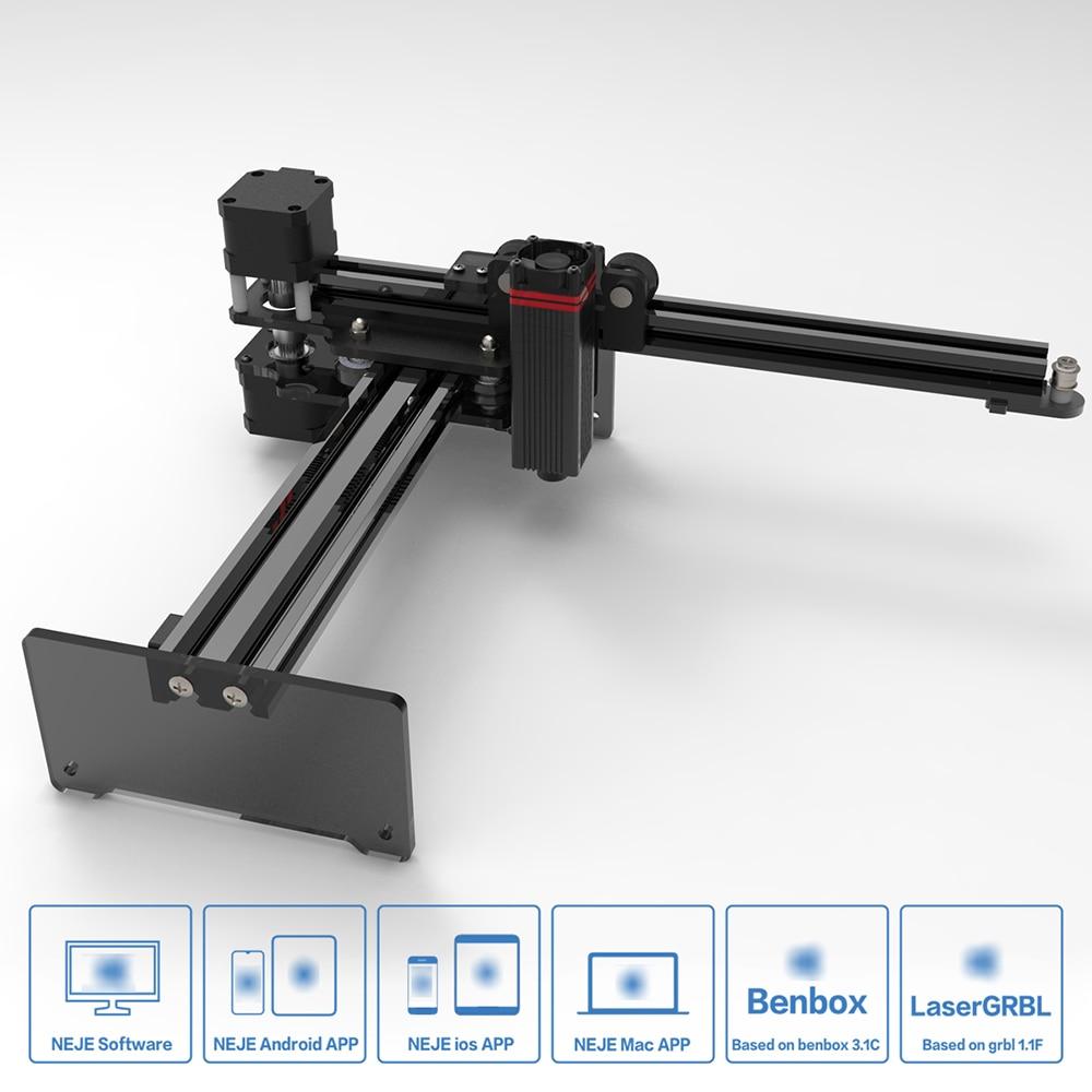 NEJE CNC Laser Engraver/Laser Engraving Machine for Metal Engraving 2