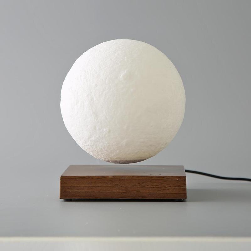Креативный светодиодный 3D принт огни магнитная левитация сенсорный Луна ночник день рождения, День Святого Валентина подарок украшения сп... - 5