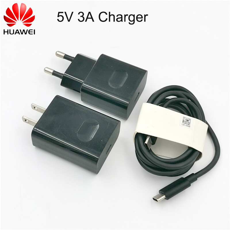 Huawei 5V3A EU US <font><b>charger</b></font> QC 2.0 Quick Fast Charge Adapter USB Double Type-c cable For <font><b>Google</b></font> Nexus 6P 5X <font><b>Pixel</b></font> XL <font><b>Pixel</b></font> 2XL LG image