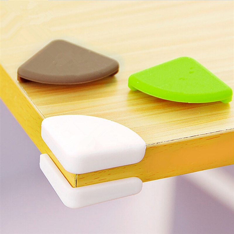 4pcs/Lot Baby Safety Table Corner Pad Anti-Collision Angle Guard Edge Protection Cover Children Safe For Desk Table