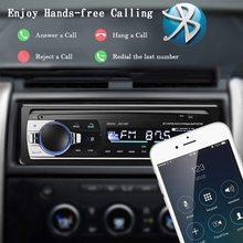 Bluetooth Autoradio Car Stereo Radio FM Aux Input Receiver SD USB JSD 520 12V In dash 1 din Car MP3 Multimedia Player