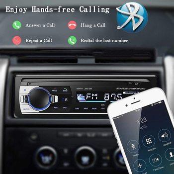Bluetooth Autoradio Car Stereo Radio FM Aux Input Receiver SD USB JSD-520 12V In-dash 1 din Car MP3 Multimedia Player 12v in dash 1din car multimedia player car stereo radio fm input receiver usb bluetooth autoradio auto mp3 music player
