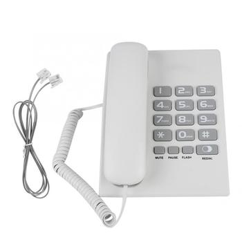 Multifunctional Landline Telephone Home Hotel Wired Corded Desktop Telephone Office Home Landline Telephone