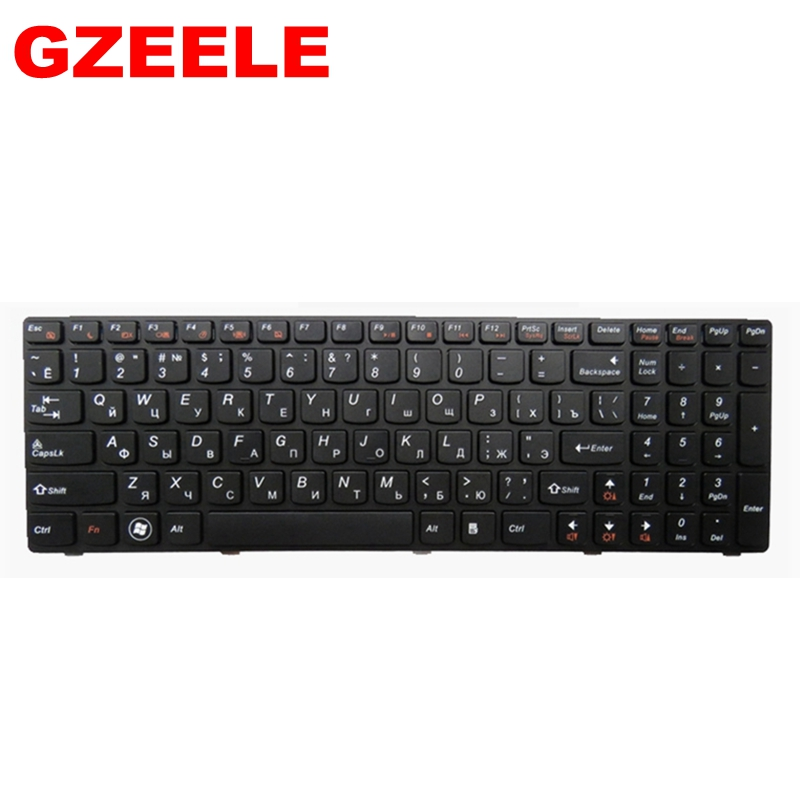 Image 3 - RU black New laptop keyboard FOR LENOVO V570 V570C V575 Z570 Z575 B570 B570A B570E V580 V580C B570G B575 B575A B575E B590 B590A-in Replacement Keyboards from Computer & Office