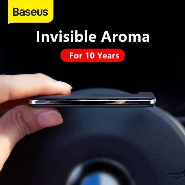 Parfum de parfum de désodorisant de voiture de Baseus pour le parfum solide de diffuseur dagrafe de climatiseur dévent de voiture automatique