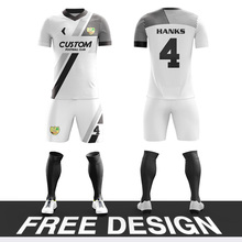 Personalized custom men's football jersey fully sublimated printed soccer uniforms club jerseys football team training uniforms long sleeve soccer sets football jerseys and pants and jacket tracksuit training suit kids to adult football custom uniforms