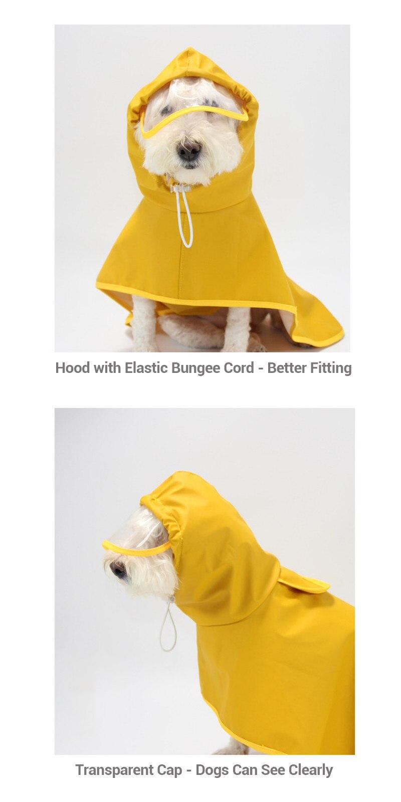 Dog Raincoat  (4)