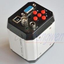 FYSCOPE HD 2.0MP 1080P 30fps الصناعية الرقمية ميكروسكوب إلكتروني كاميرا VGA USB AV المخرجات إصلاح الهاتف المحمول