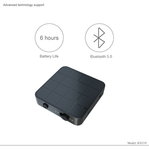 Image 3 - KEBIDU 3 في 1 Bluetooth5.0 استقبال الارسال الصوت ستيريو الموسيقى محول سيارة يدوي دعوة و ميكروفون مع زر التبديل