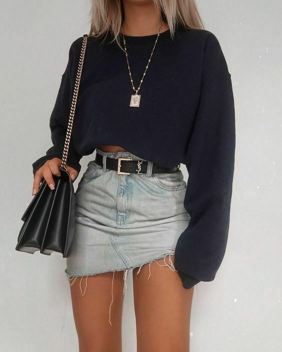 Autumn Fashion Women's Long Sleeve Crop Top T-Shirts Casual Women Loose Pullover Tops Spring Clothes Outdoor Short T-Shirt Suits