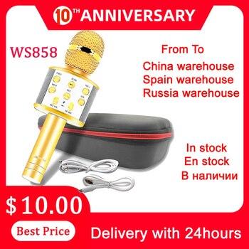 Микрофон для музыки Ws858, Микрофон для проигрывания музыки