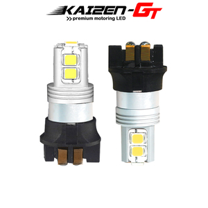 2pcs No Load Resistor Required Xenon White Canbus 10-SMD PW24W PWY24W LED DRL Light Bulbs For Audi BMW F30 3 Series Peugeot etc(China)