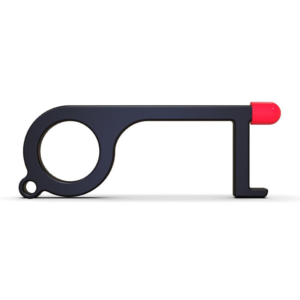 Door Opener EDC Brass Hygiene Door Opening Stick Non-contact Press Elevator Button Portable Door Opening Stylus Key Safe Tool