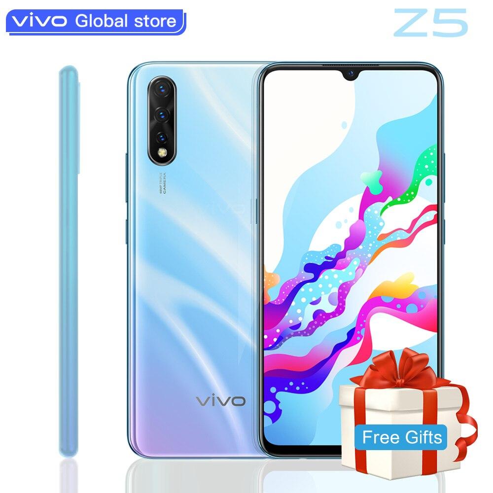 Vivo z5 amoled tela original telefone móvel snapdragon712 48mp + 32mp câmera 4500 mah bateria celulares 22.5 w carregamento smartphone
