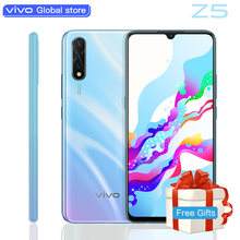 original vivo Z5 Amoled Screen Mobile phone Snapdragon712 48MP+32MP Camera 4500mAh Battery celulares 22.5W Charging SmartPhone(China)
