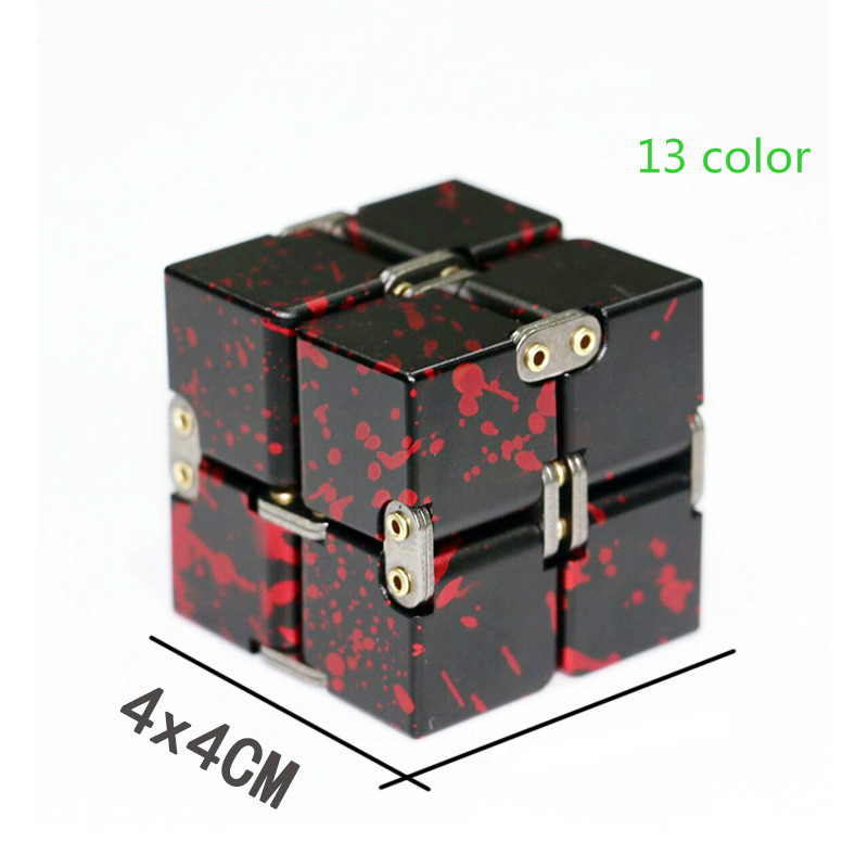 Toys Magic-Cube Stress-Relief EDC Finger Anxiety Metal Blocks Best-Gifts Funny Kids Children img4