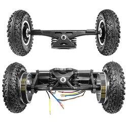 Nouveau planche à roulettes électrique 1650W tout-terrain Longboard électrique avec double moteur 2x1650W quatre roues motrices bricolage roue pneumatique Flipsky