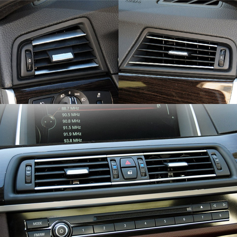 BMW 5 Series F10 F18 Car Center A//C Air Outlet Vent Panel Grille Cover