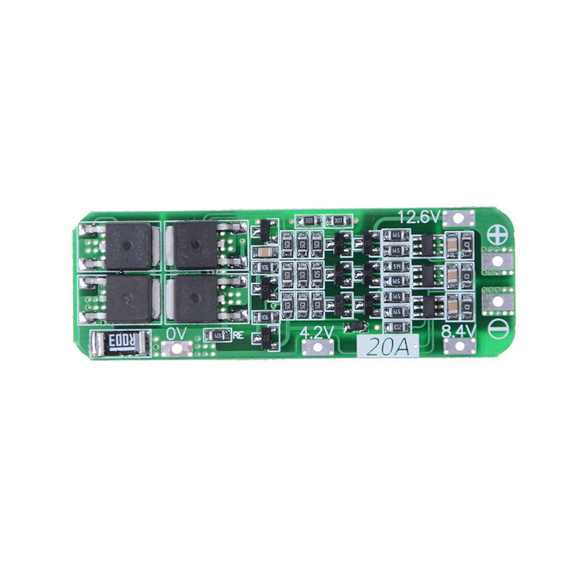1S 2S 3S 4S 3A 20A 30A Li-ion Lithium Battery 18650 Charger PCB BMS Protection Board For Drill Motor Lipo Cell Module 5S 6S image