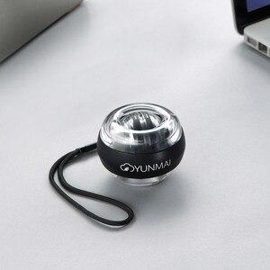 Image 5 - Xiaomi Mijia YunMai Powerball karpal eğitim aparatı güç bilek topu eğitmen LED Gyro topu uçucu Spinner antistres oyuncak