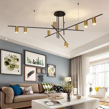 Scandinavian Post-modern LED Ceiling Chandeliers Lighting Creative Designer Hanging Lamp Dining Room Living Room Coffee Lustre