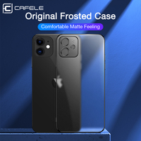 Cafele-funda de lujo para iPhone 12 11 Pro Max, suave funda de silicona transparente ajustada para iPhone 12 ProMax