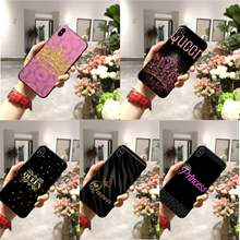 Queen princess crown DIY Luxury High-end phone Case for iPhone 11 pro XS MAX 8 7 6 6S Plus X 5 5S SE XR case(China)