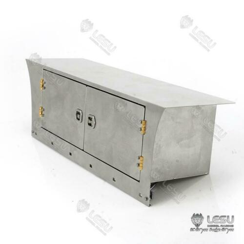 lesu rc placa de saia lateral metal 1 14 diy tmy sca r470 r620 caminhao trator
