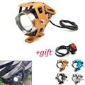 Pour Suzuki GSX1400 GSX650F gs 500e gsx 250 600 1400 moto lumière led phare lampe auxiliaire U5 projecteur moto lumière
