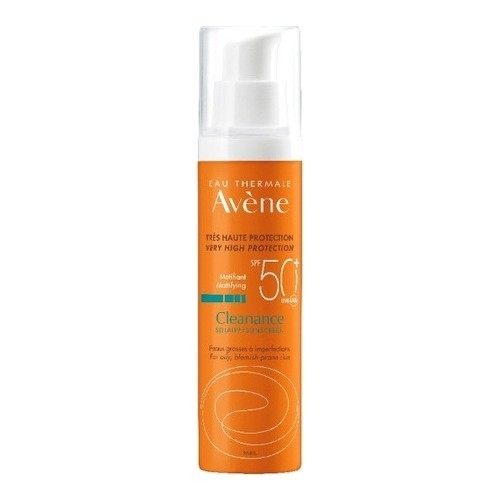 Avene Cleanance Solaire Spf 50-For Oily and acne skin Sun Protection Cream 50 ml 1