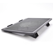 "Super Leise Laptop Kühler Cooling Pad Basis Großer Fan USB Stehen für 14 ""Laptop Notebook Pc-peripheriegeräte Lüfter(China)"