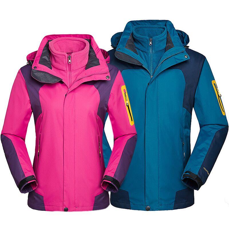 New Thicken Warm Ski Jacket Women Men Waterproof Windproof Snow Skiing And Snowboard Jacket Outdoor Winter Jacket For Men Women
