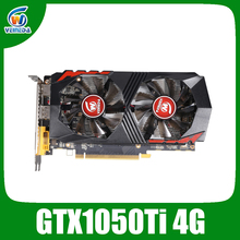 Veineda וידאו כרטיס GTX1050Ti 4GB 128Bit 1290/7000MHz כרטיס גרפי עבור nVIDIA Geforce משחקים