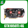 Veineda Video Karte GTX1050Ti 4GB 128Bit 1290/7000MHz Grafikkarte für nVIDIA Geforce Spiele