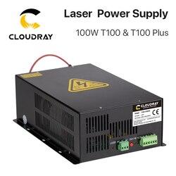 Cloudray 80 W-100 W CO2 Sorgente di Potenza Del Laser di Alimentazione per CO2 Incisione Laser Macchina di Taglio HY-T100 T/ W Più Serie di Garanzia a Lungo