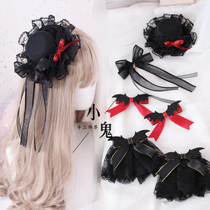 New 1 Pair Fashion Wings Spider Hairpins Halloween Hair Clips Girls Costume HU